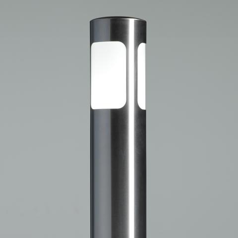 EDELSTAHL Poller RUND Licht-Design