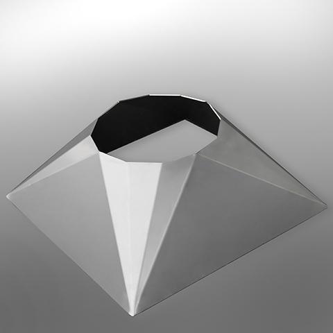 EDELSTAHL Pyramidenstumpf