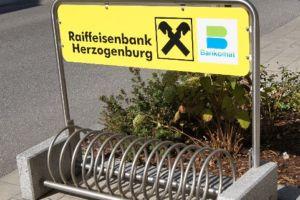 Radparker Spiral - Raiffeisenbank Herzogenburg